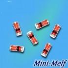 ZM 4728..ZM 4764 zener diode 1w minimelf