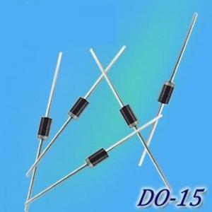 1N5391 1N5392 1N5393 1N5395 1N5397 1N5398 1N5399 1.5 A Silicon Rectifiers DO-15